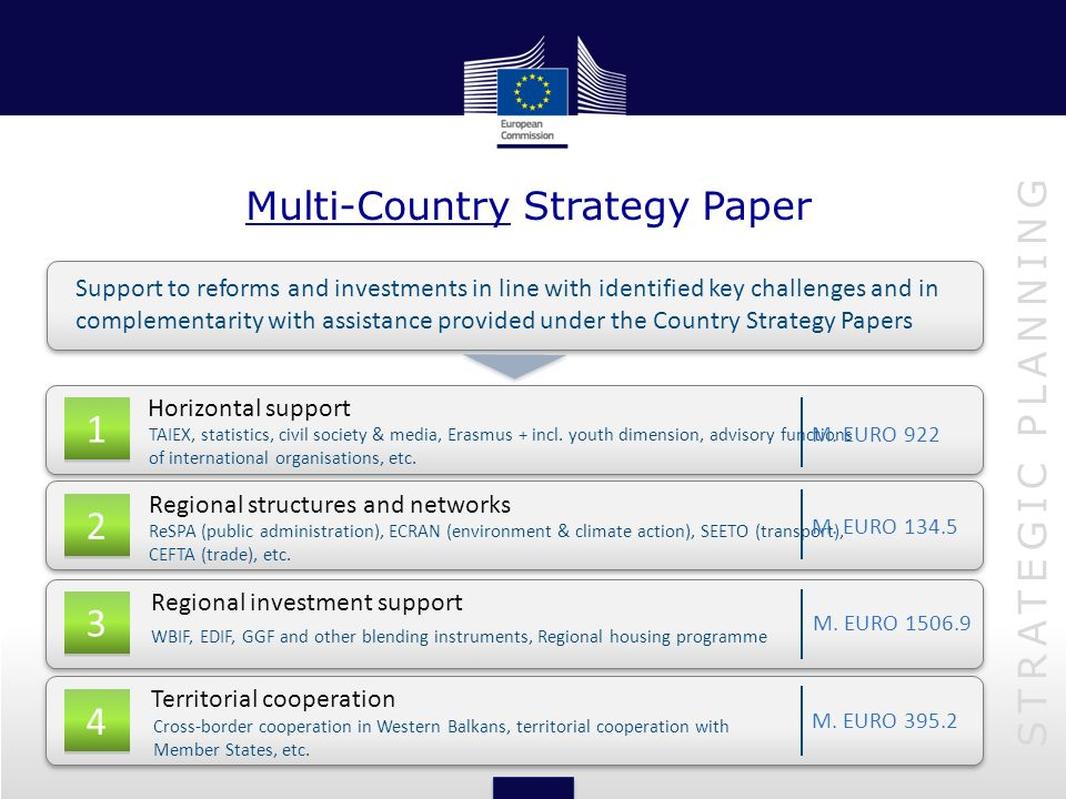 Multi-Country Strategy Paper