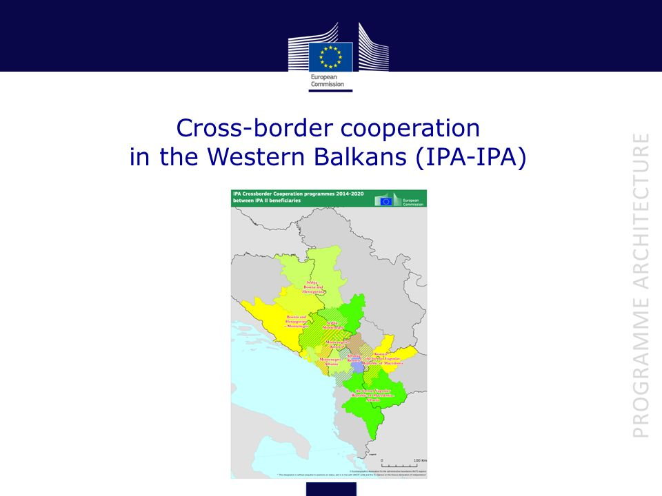 Cross-border cooperation in the Western Balkans (IPA-IPA)