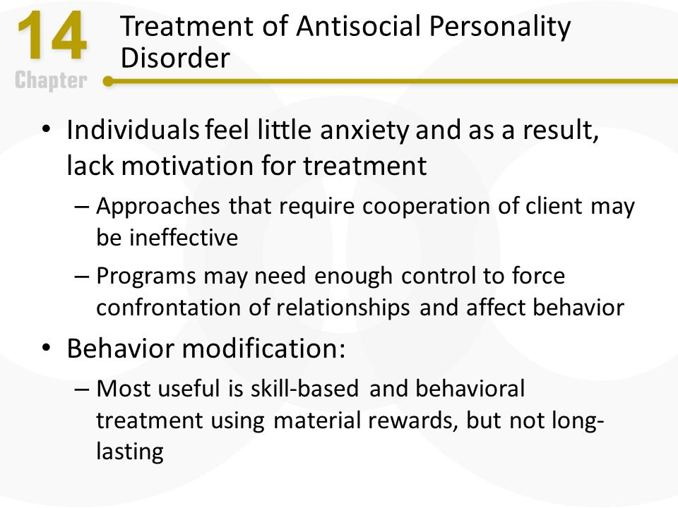 antisocial personality disorder treatment