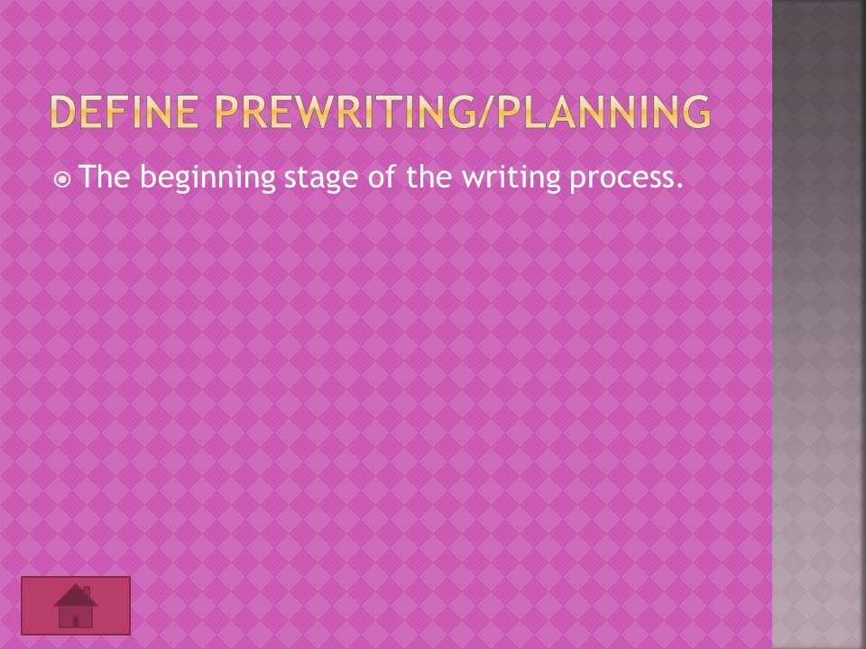 definition of the writing process Being conscious of your own writing process is especially helpful when you find yourself struggling with a particularly tricky piece here are five steps towards.