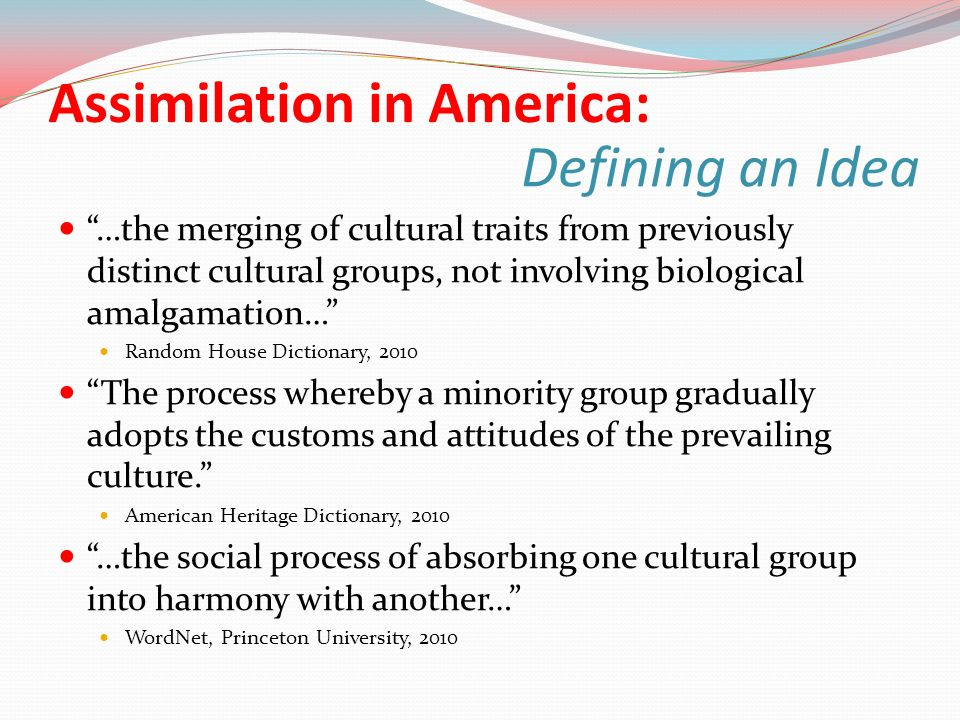 the assimilation of arabs into the american culture and society The assimilation and integration of american muslims has  relations in the  united states • american muslim scholars advocate greater involvement by  muslims in the political, social, economic, and cultural spheres of american  society.