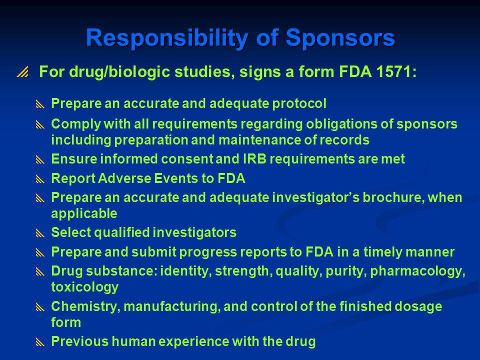 FDA Compliance Actions Against IRBs and Clinical Investigators ...