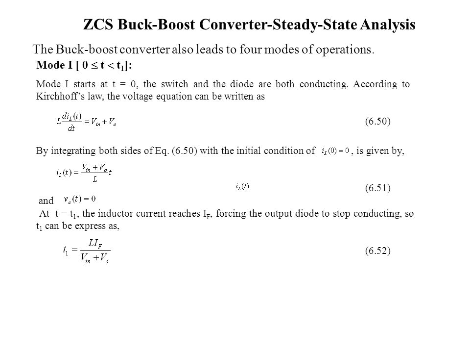 buck boost converter with soft switching Full-text (pdf) | objectives: the intention of this paper is to project a soft switching bidirectional buck boost converter with high efficiency, simple structure for.
