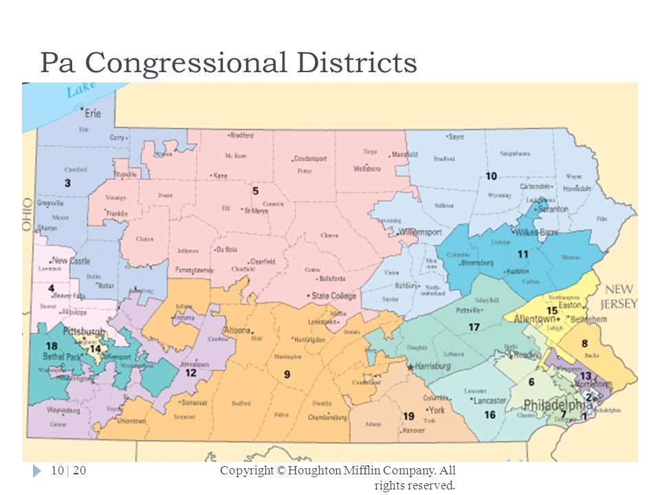 Pa Congressional Districts