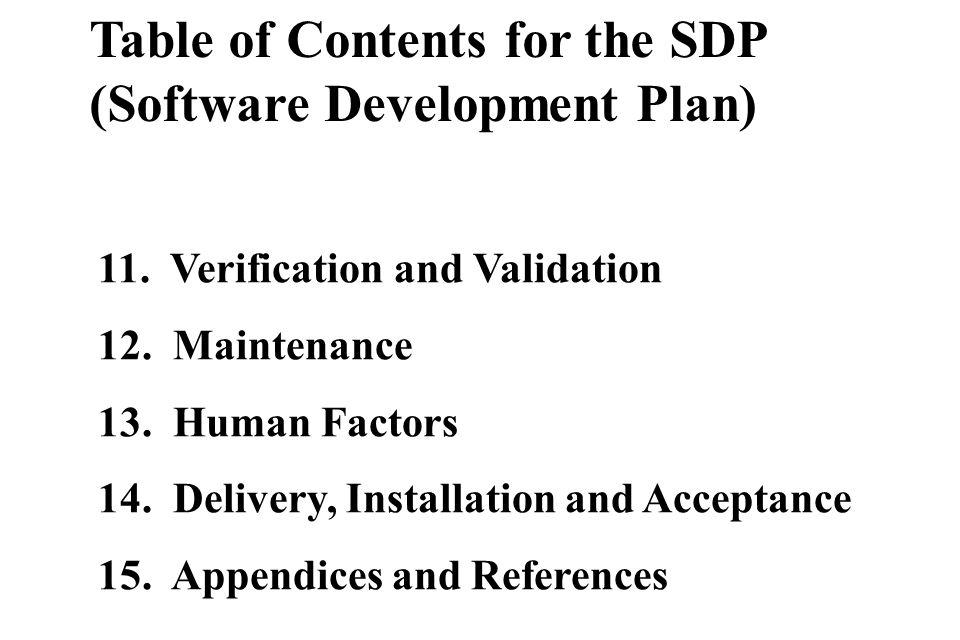 software development plan