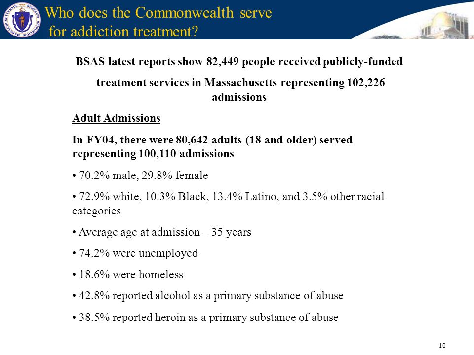 Who does the Commonwealth serve for addiction treatment
