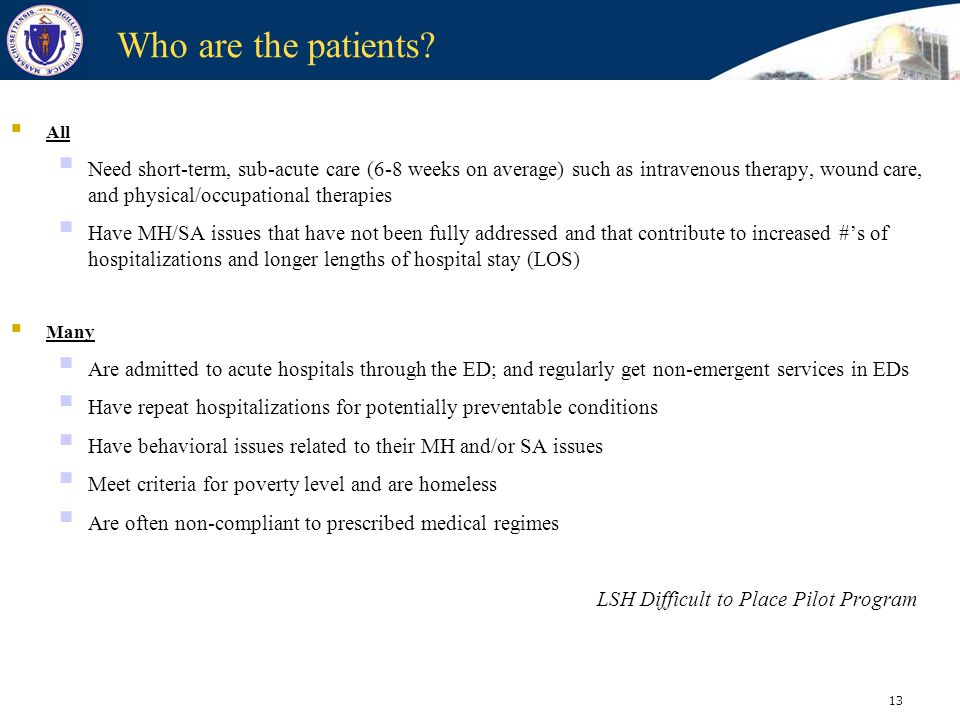 Who are the patients All.