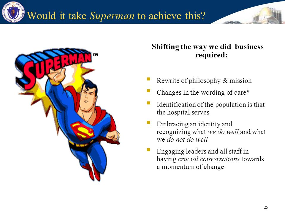 Would it take Superman to achieve this