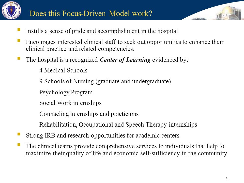 Does this Focus-Driven Model work