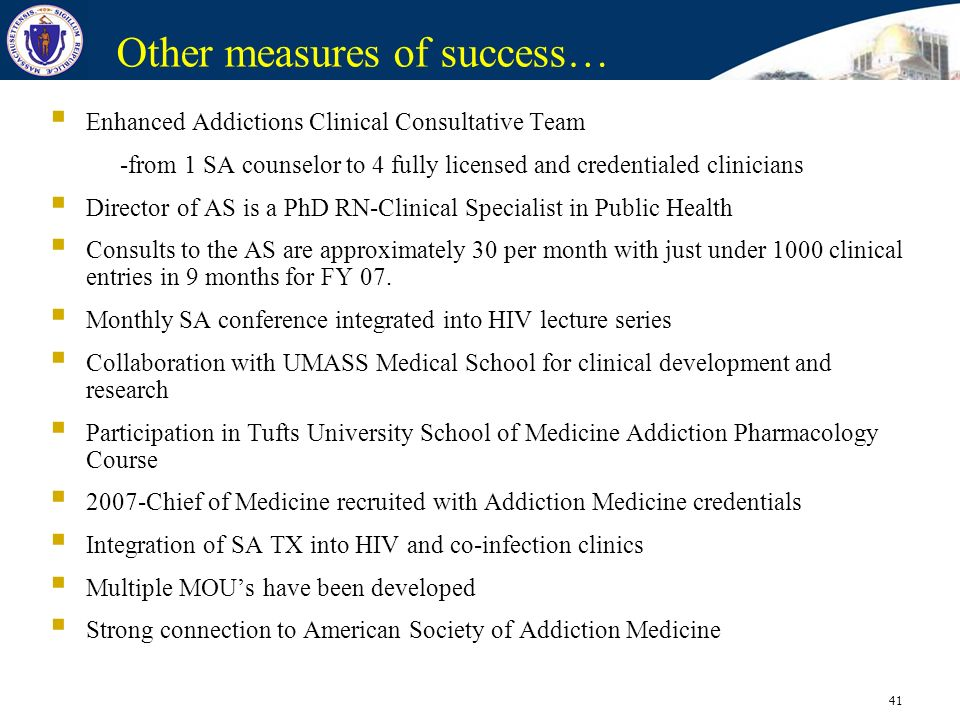 Other measures of success…