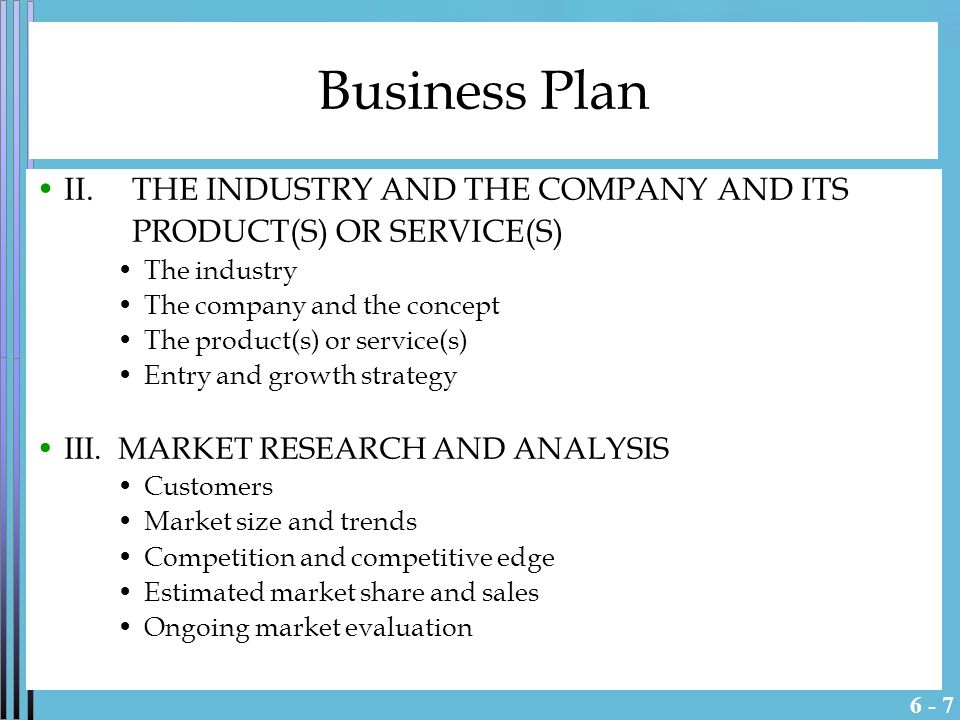 Estimated market share business plan