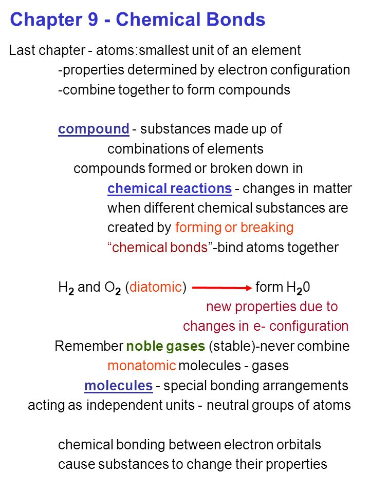 chemistry chapter 9 Study flashcards on chemistry chapter 9, 10, 11 review at cramcom quickly memorize the terms, phrases and much more cramcom makes it easy to get the grade you want.