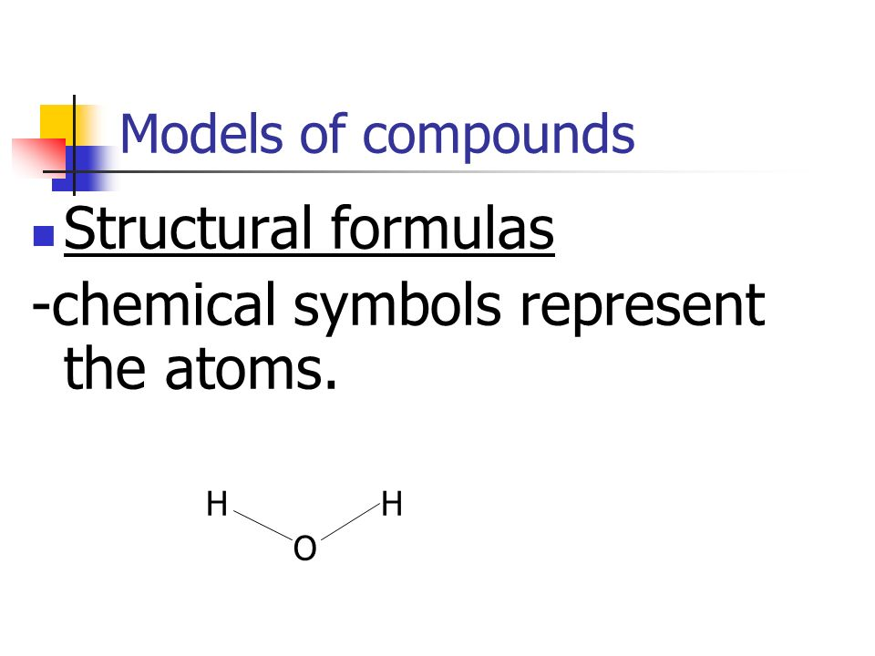 -chemical symbols represent the atoms.