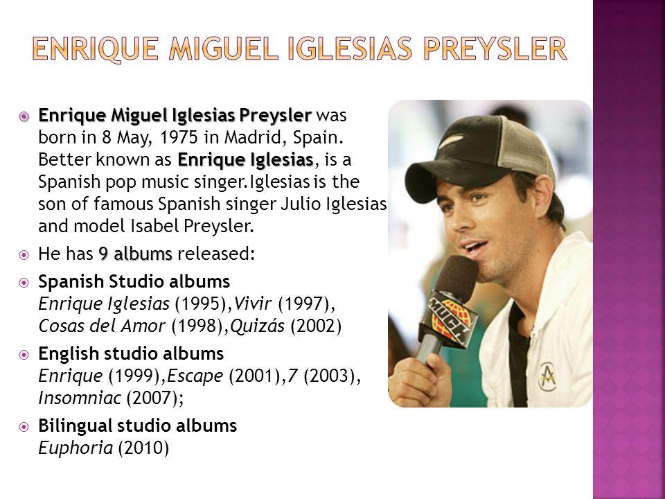 Enrique Miguel Iglesias Preysler
