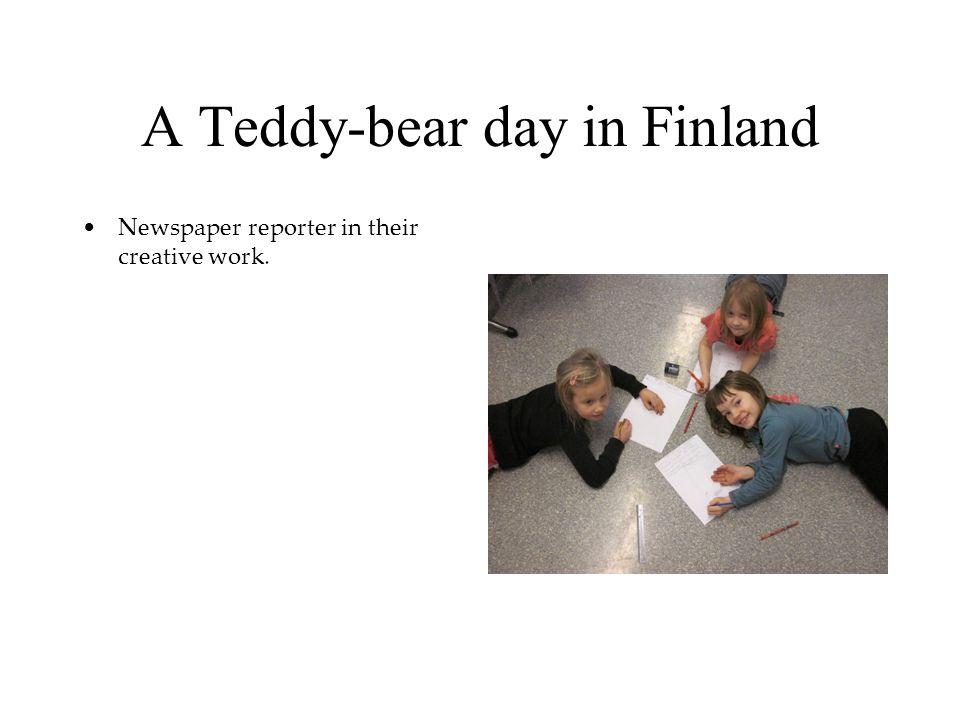A Teddy-bear day in Finland