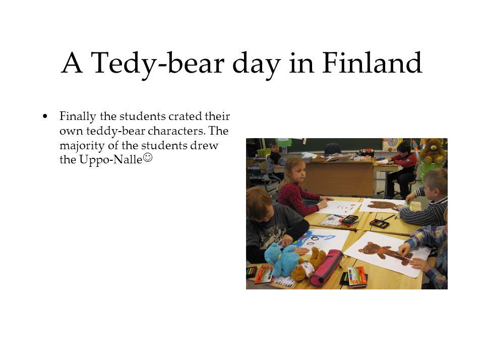 A Tedy-bear day in Finland