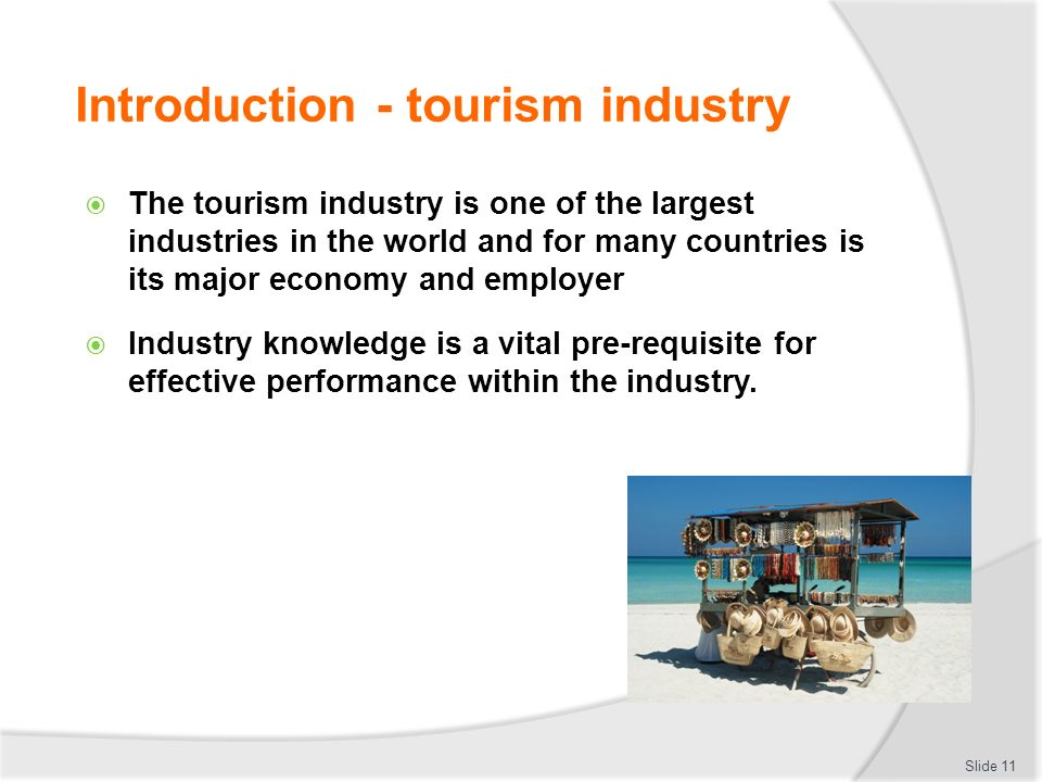 Develop and update tourism industry knowledge