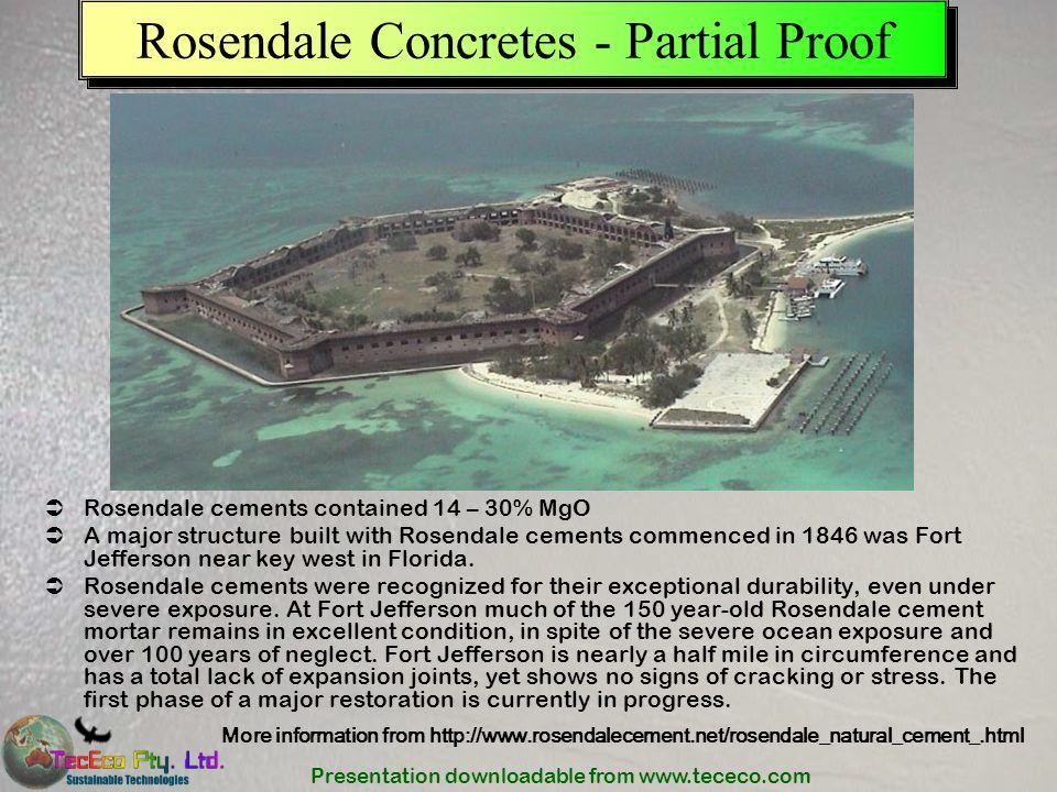 Rosendale Concretes - Partial Proof