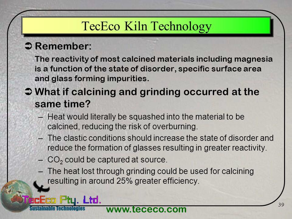 TecEco Kiln Technology