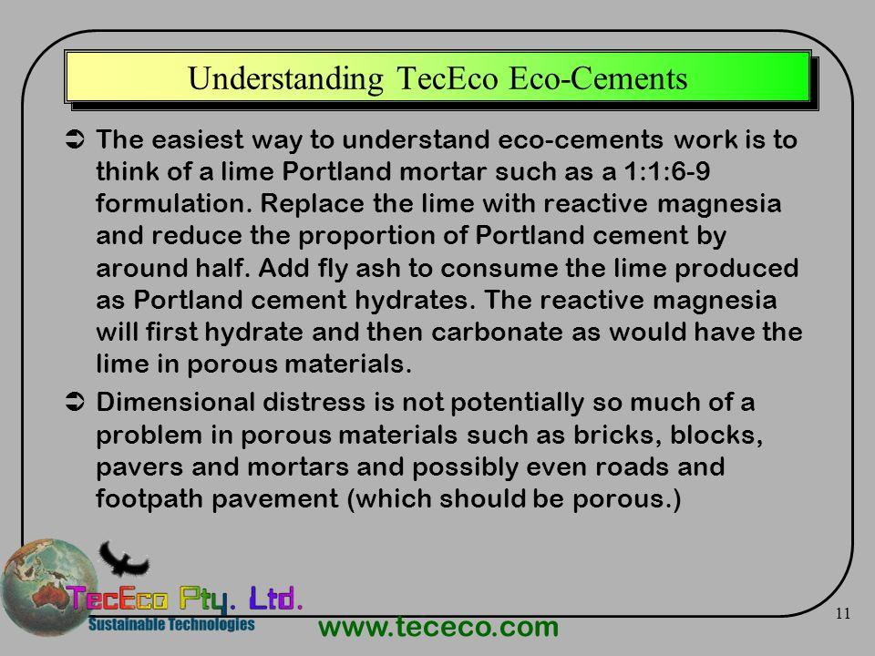 Understanding TecEco Eco-Cements