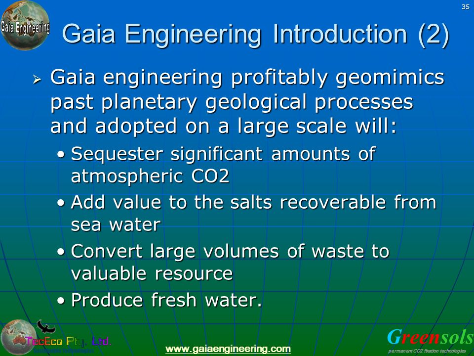 Gaia Engineering Introduction (2)