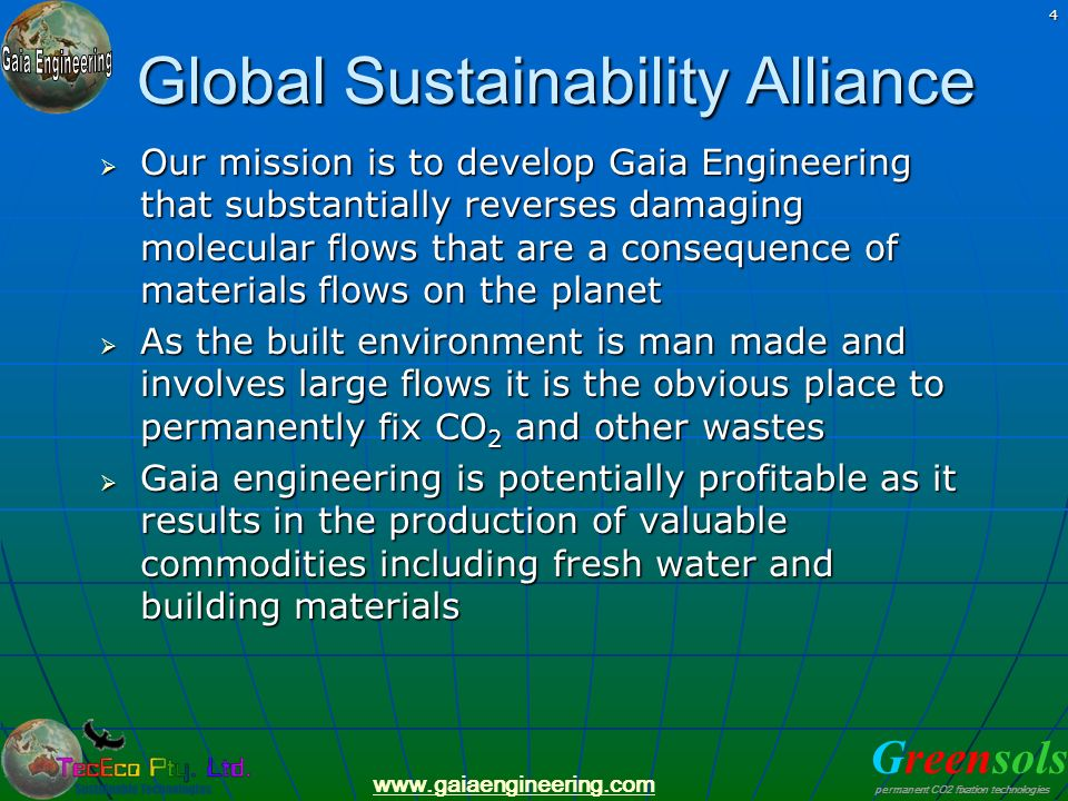 Global Sustainability Alliance