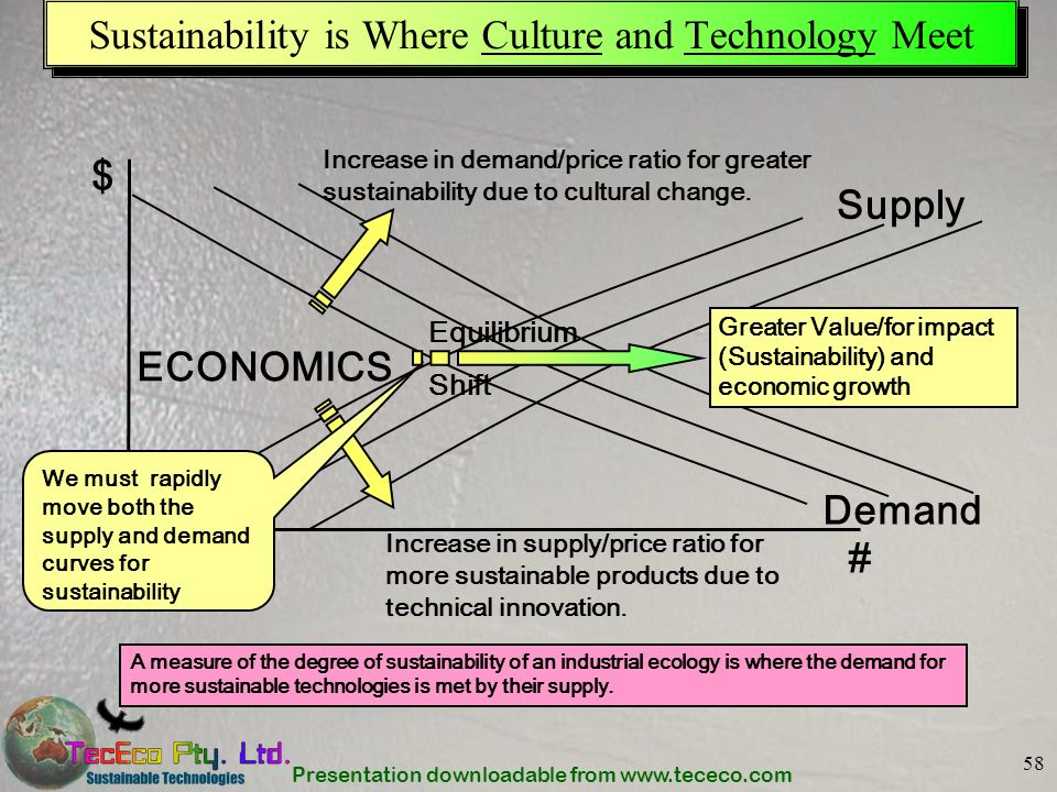 Sustainability is Where Culture and Technology Meet