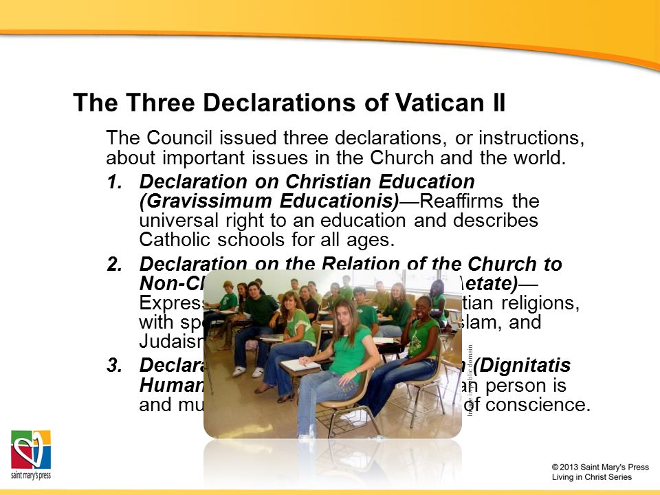 declaration on the relationship of church to non christian religions