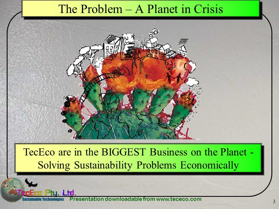 The Problem – A Planet in Crisis