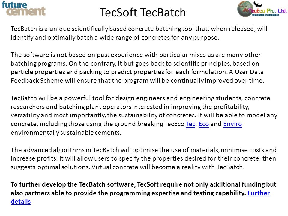 TecSoft TecBatch