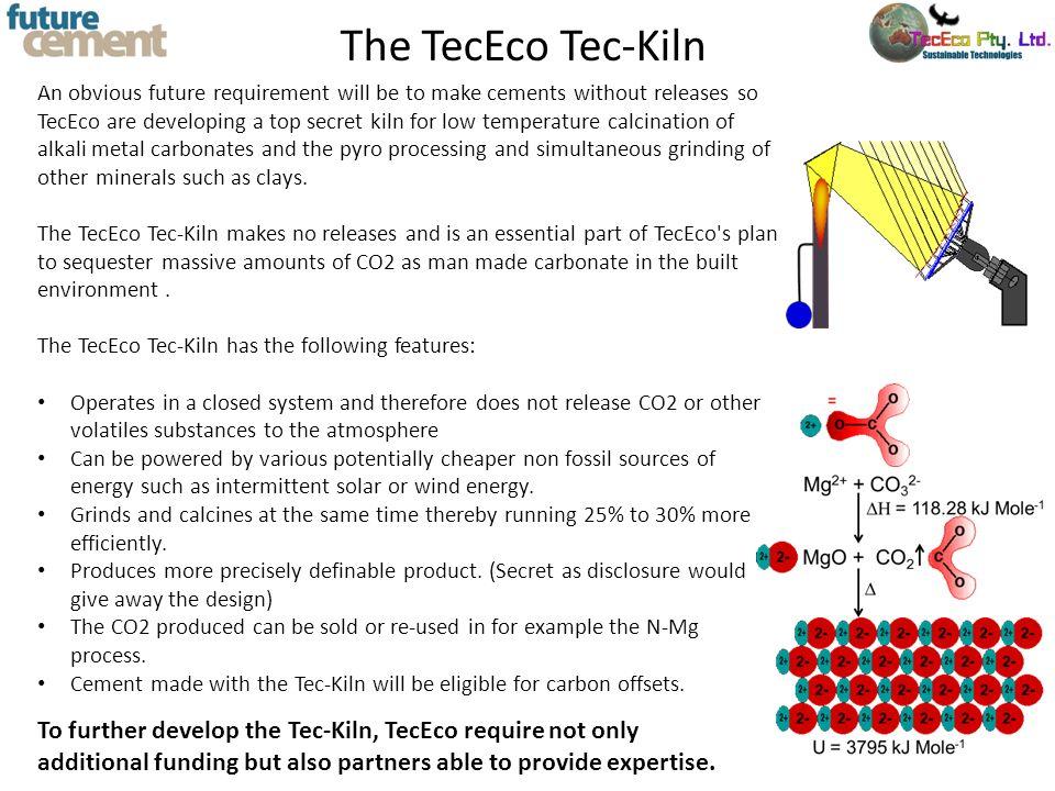 The TecEco Tec-Kiln