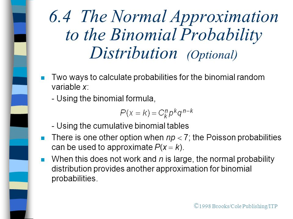 Chapter 6 the normal probability distribution ppt video - Poisson cumulative distribution table ...