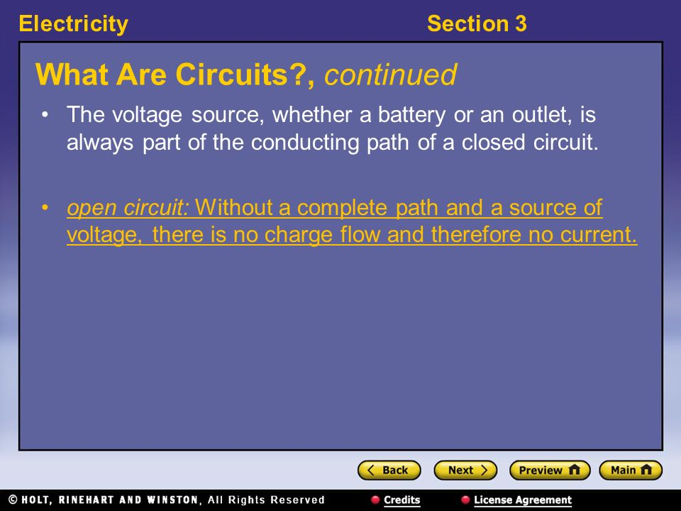 What Are Circuits , continued