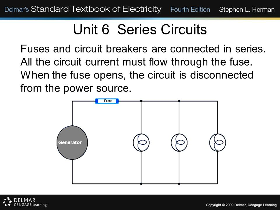 Unit 6 Series Circuits