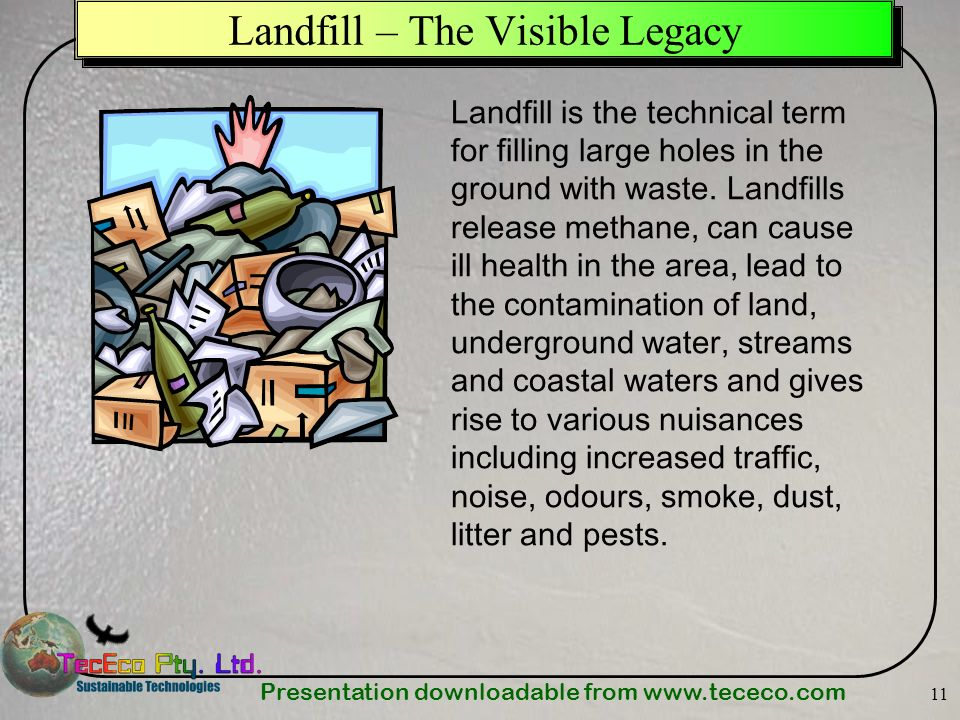 Landfill – The Visible Legacy