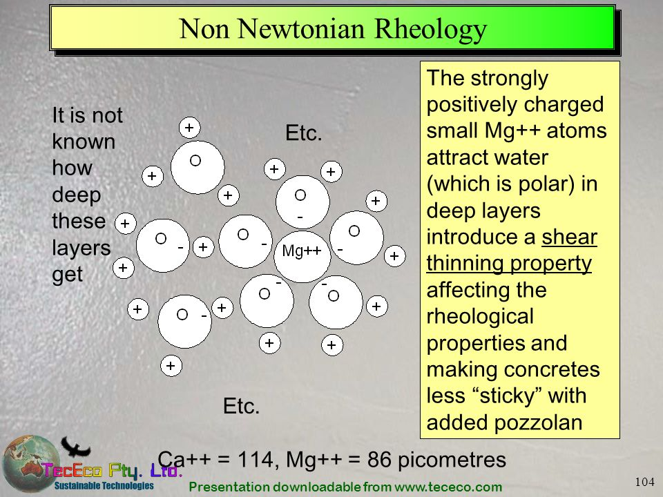 Non Newtonian Rheology