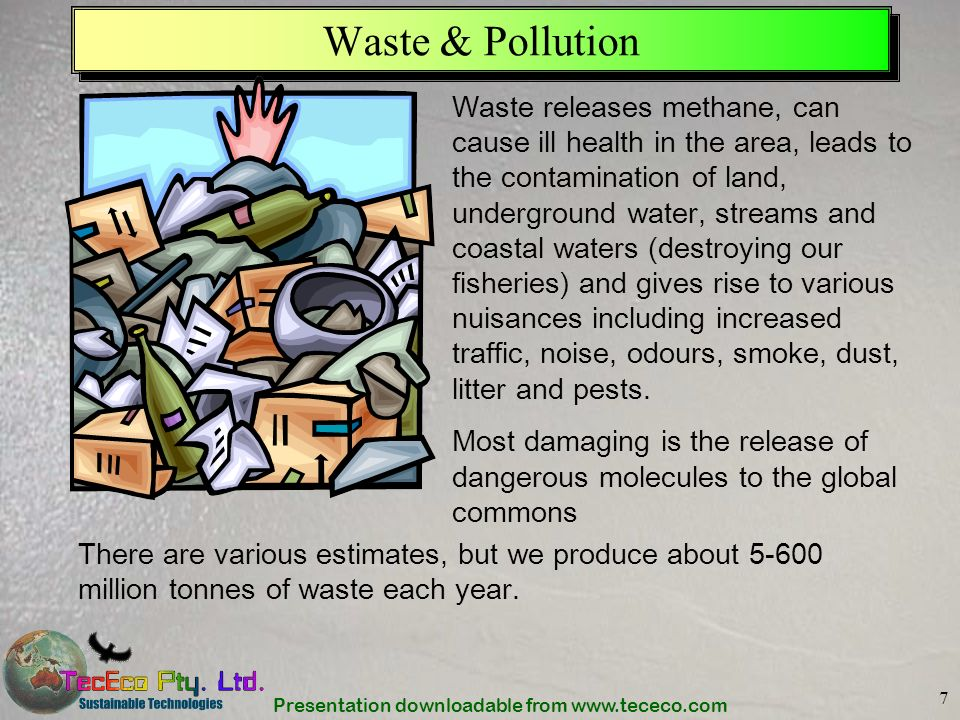 Waste & Pollution