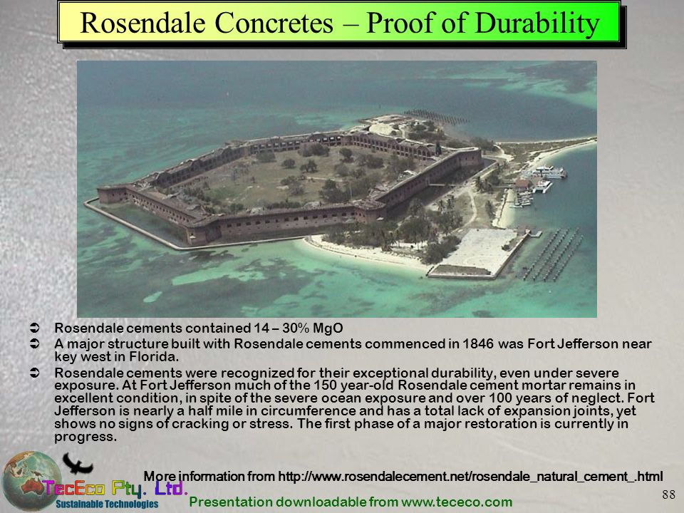 Rosendale Concretes – Proof of Durability