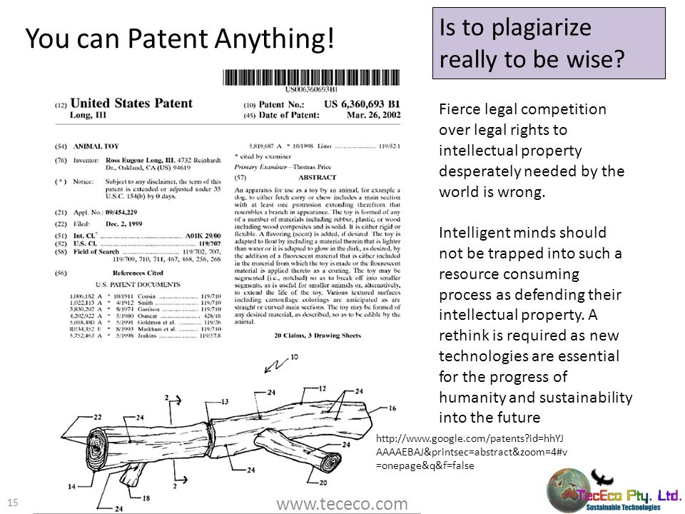 You can Patent Anything!