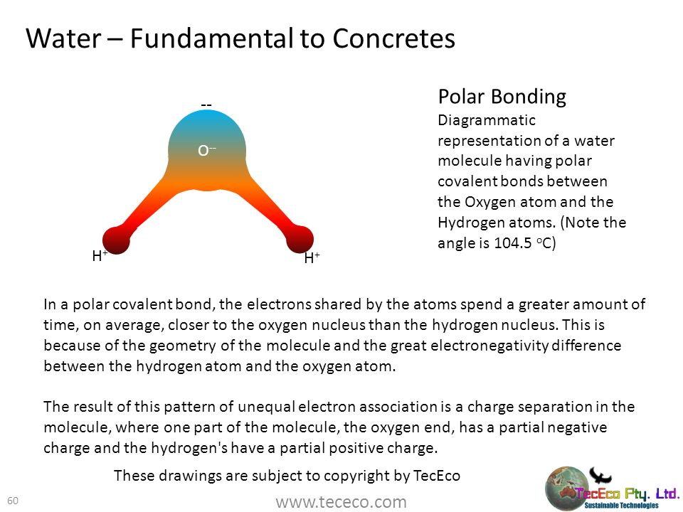Water – Fundamental to Concretes