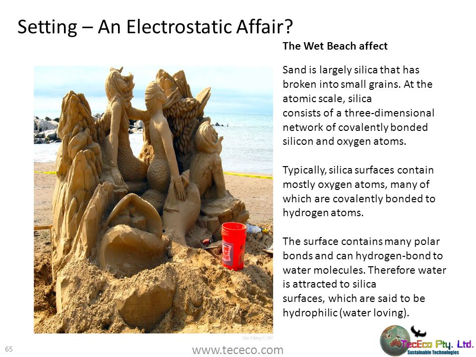 Setting – An Electrostatic Affair