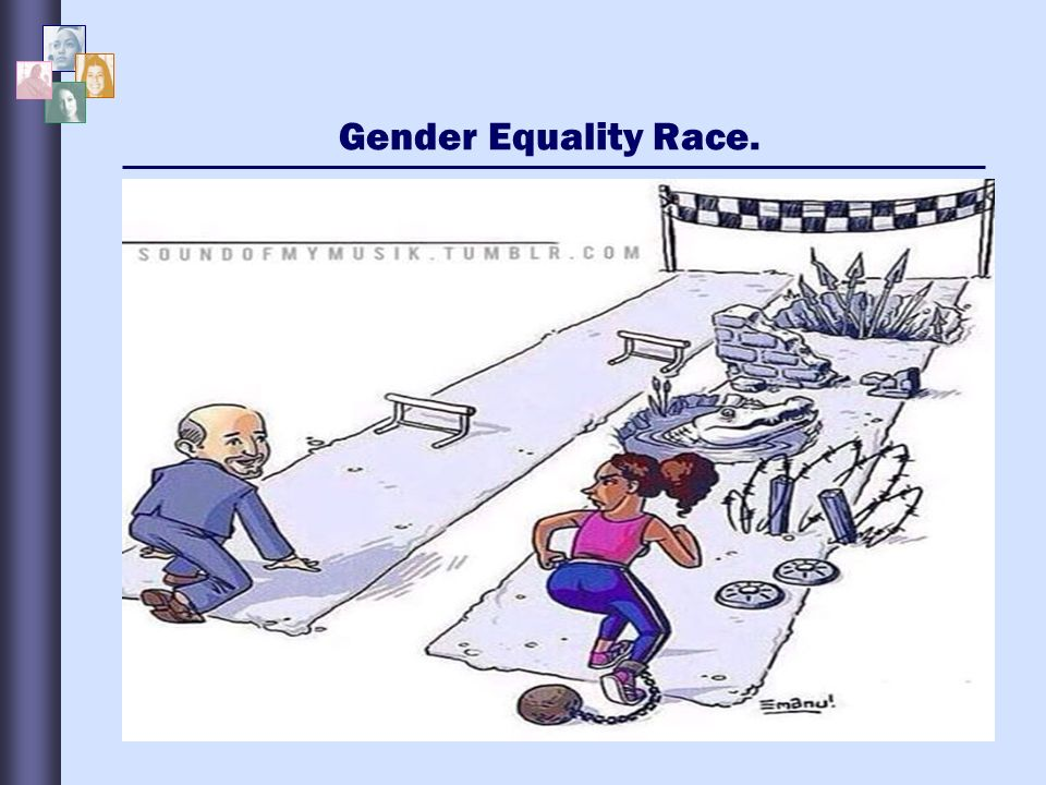 racial gender equality Short film for the african american policy forum, showing metaphors for obstacles to equality which affirmative action tries to alleviate all graphics and a.