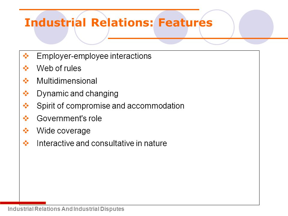 The Advantages of Labor Relations to an Organization