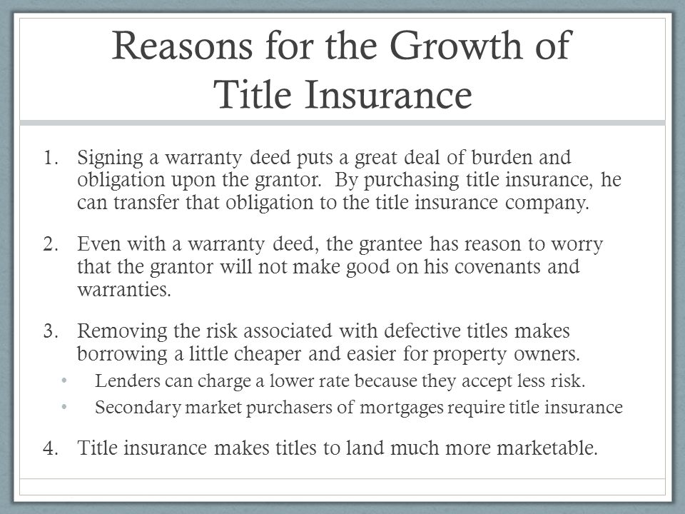 Title insurance - Wikipedia