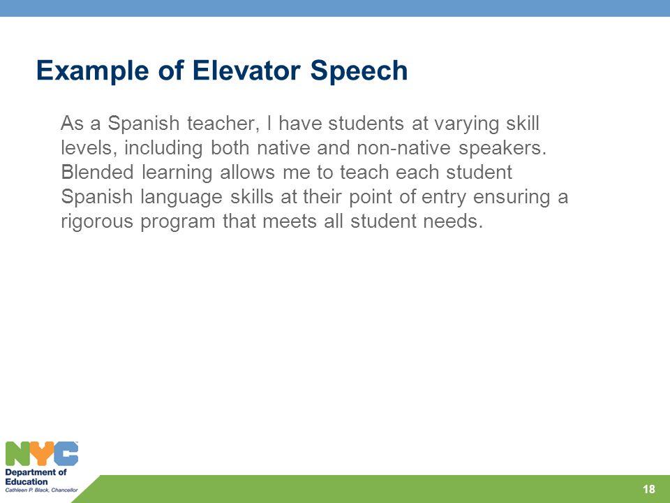 each one teach one speech