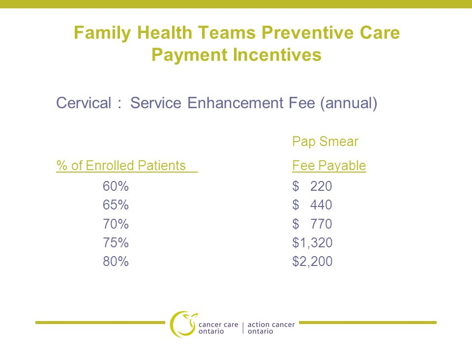 health care and incentives You can earn extra money by helping your patients stay healthy and well we understand the importance of keeping our members well, and you play a big role in their well-being.