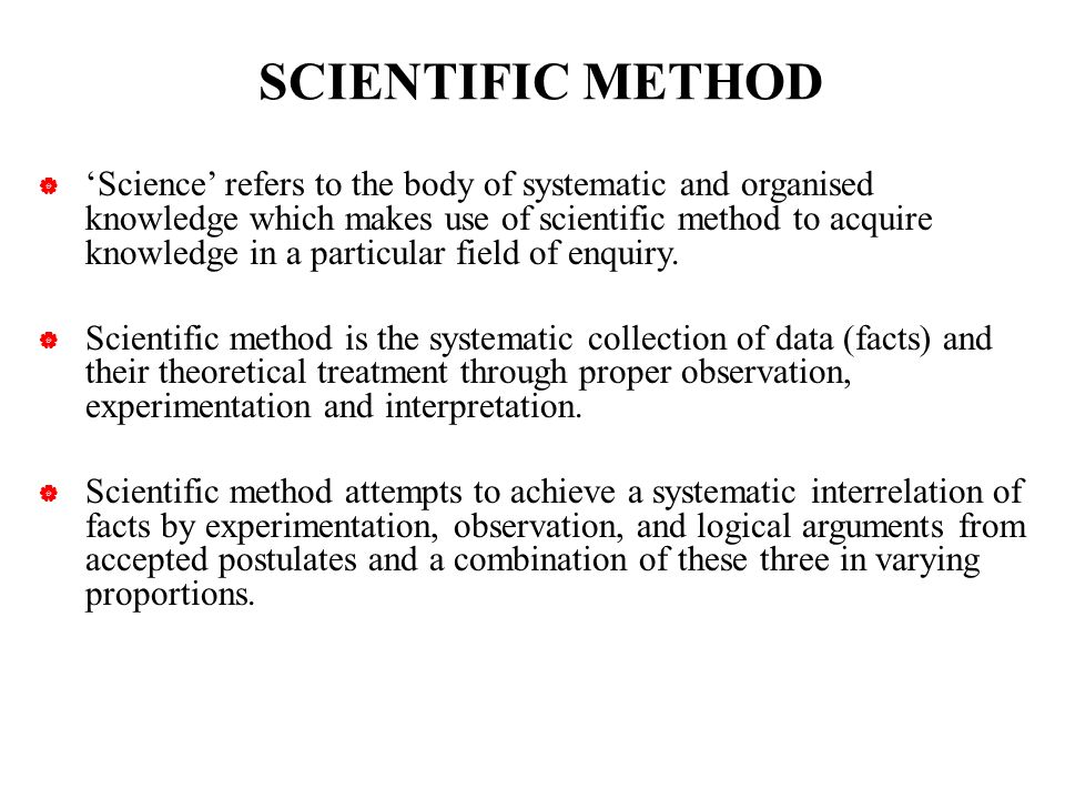 scientific method 6 essay There's a scientific method to tim and moby's madness learn about observation, experimentation--and oh, those heady conclusions.