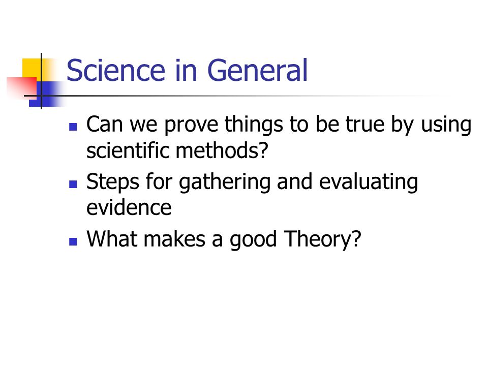 Scientific Laws and Theories