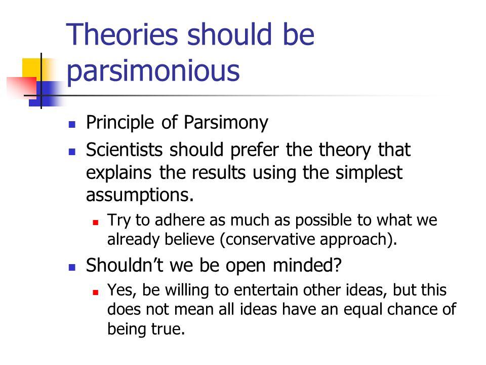 Parsimonious Definition