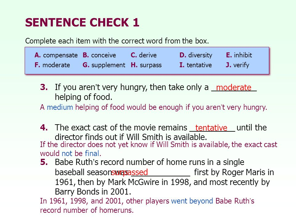 Proofread online a sentence